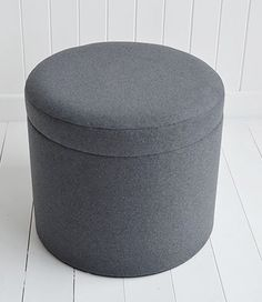 EMIL Grey Upholstered Stool See More Westhampton Soft Gret Storage Dressing Table For White And Greyy Bedroom Design