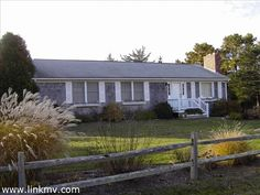 #MarthasVineyard #realestate. Great neighborhood, conveniently located to downtown Edgartown and South Beach. Single level home with a fireplaced family room in the lower level to complement the fireplaced living room on the main level. Ceiling fans AND central air conditioning. Bright and sunny with west facing rear deck overlooking a spacious lawn area.  Mahogany side entrance includes an oversized, enclosed outdoor shower.  www.lighthousemv.com/marthas-vineyard-island-wide-sales-402.html