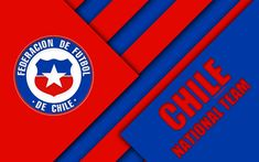 Team Wallpaper, National Football Teams, Sports Wallpapers, Fifa World Cup, Material Design, Coat Of Arms, Chicago Cubs Logo, Red And Blue, America's Cup