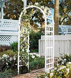 I like this Arch trellis