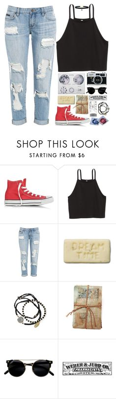 """""""La Luna"""" by daydreamer20-1 ❤ liked on Polyvore featuring Converse, Feather & Stone and GO Home Ltd."""