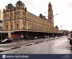Estacao Da Luz Railway Station In Sao Paulo Stock Photo, Royalty Free Image: 62649289 - Alamy