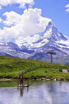 スルガ展望台はマッターホルンが絶景!スイスに行ったら絶対にみたい絶景、マッターホルン。スイス 旅行・観光の見所。