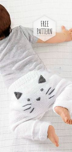 Stricken, Häkeln und Spinne Baby Pants Free Pattern Buying Discount Tools and Equipment at Auction I Baby Cardigan, Crochet Baby Pants, Knitted Baby Clothes, Knit Crochet, Booties Crochet, Baby Vest, Baby Booties, Pants Pattern Free, Free Pattern