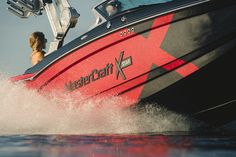 STAR PERFORMANCE. NOW TUNED FOR SURF.The XStar pairs aggressive styling with unparalleled performance for a wakeboard boat like no other—that can roll a serious surf wave too. When you want every advantage possible, this is the only choice.