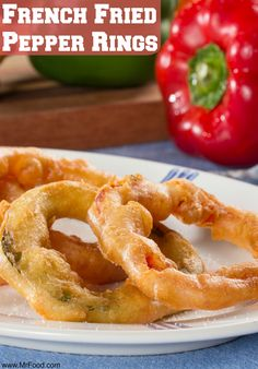 Need some more ideas for what to make with all those fresh summer peppers you have on hand? How about turning them into French Fried Pepper Rings? Yum!