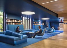 kollaborative-cobalt-arbeitsbereiche-julian-street-library-der-princeton-university/ - The world's most private search engine Loft Interior, Office Interior Design, Interior Architecture, University Interior Design, Office Designs, Medical Office Interior, Interior Decorating, Interior Paint, Corporate Interiors