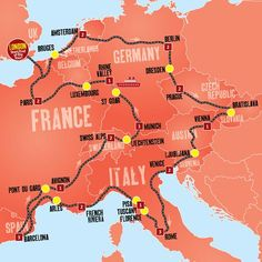 The Ultimate Europe Tour from Expat Explore takes you on a 26 day European coach adventure that spans across multiple top destinations on the continent.