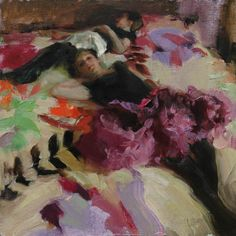 Painter Johanna Harmon, Figurative Art, Artist Study for  Art School Students, CAPI ::: Create Art Portfolio Ideas at milliande.com Art School Portfolio, Painting, People, Figurative