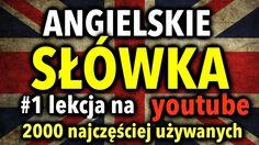 Polish Language 1000 most frequently used words - Part 2 Polish Language, Other Ways To Say, English, Teaching, Youtube, Signs, Shop Signs, English Language, Education