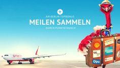 Punkte in Air Berlin Topbonus Meilen tauschen