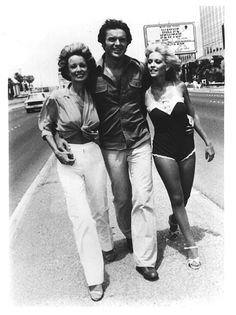 lol  Dan Tanna and his secretaries from the old TV show, Vegas