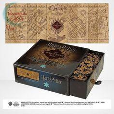 Harry Potter: Tekergők térképe 1000 darabos puzzle egy szuper, prémium minőségű dobozban, minden Harry Potter rajongó számára kiváló ajándék. Nem lesz egyszerű feladata annak, aki e puzzle-nak a kirakására vállalkozik, hiszen a térkép alapszíne a barna és annak árnyalatai, csak egyes minták vannak a segítségünkre. Kiindulási alapként hasznos lesz majd a puzzle közepe a betűkkel. #Puzzle #Kirakó #Kirako #HarryPotter #Játék #Jatek #Ajándék #Ajandek Puzzles, Bellatrix Lestrange, Diagon Alley, Slouchy Beanie, The Marauders, Ravenclaw, Yule, Chibi, Decorative Boxes