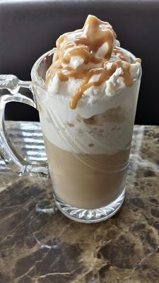 Skinny Caramel Frappuccino (Starbucks Copy Cat)