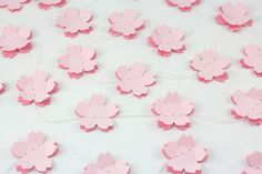 Double Cherry Blossom Paper Garland  Birthdays by 1PixiePlace, $6.00