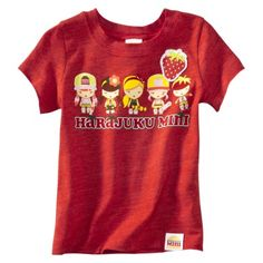 Harajuku Mini for Target® Toddler Girls Berry Tee - Washed Red