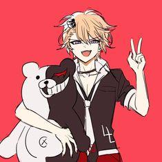 Danganronpa Memes, Danganronpa Characters, Anime Characters, Gender Bender Anime, Dancing Drawings, Pokemon Alola, Funny Anime Pics, Sad Art, Kawaii