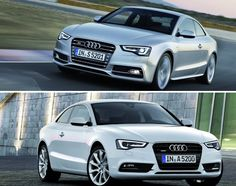 2013 Audi A5 And S5