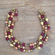icravejewels at etsy ! nice autumn necklace