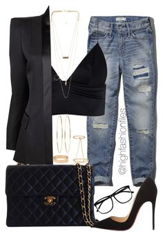 """""""Sexy Cool"""" by highfashionfiles ❤ liked on Polyvore"""