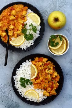 Chicken curry with apple and coconut milk - Amandine Cooking - Chicken curry with apple and coconut milk Chicken curry with apple and coconut milk Chicken curry w - Shredded Chicken Casserole, Shredded Chicken Recipes, Easy Chicken Recipes, Pasta Recipes, Dinner Casserole Recipes, Easy Dinner Recipes, Easy Meals, Cooking A Stuffed Turkey, Cooking Chicken Curry