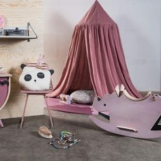 Sebra Baldachin In Altrosa Online Kaufen | KidsWoodLove