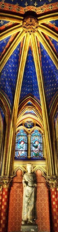 St. Chapelle in Paris.