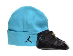 "9bd75e69a awesome Jordan 11 Retro ""Gamma"" Infants Shoes Gift Pack Black Gamma Blue-Varsity  Maize 378049-006  378049006  Black Gamma  BlueVarsity  Gamma  Gift  Infants  ..."