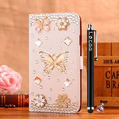 Amazon.com: Locaa(TM) Samsung Galaxy Young2 G130h 3D Bling Case + Phone stylus + Anti-dust ear plug Deluxe Luxury Crystal Pearl Diamond Rhinestone eye-catching Beautiful Leather Retro Support bumper Cover Card Holder Wallet Cases - [General series] cute panda: Cell Phones & Accessories
