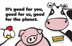 I recently started doing Meatless Mondays. Because I don't eat any seafood I don't think I will ever go completely vegetarian but I am committed to a low-meat diet. Check their website out! Kindness To Animals, Spinach Alfredo, Meat Diet, Meat Loaf Recipe Easy, Vegan Animals, Just A Reminder, Meatless Monday, Carbon Footprint, Helpful Hints