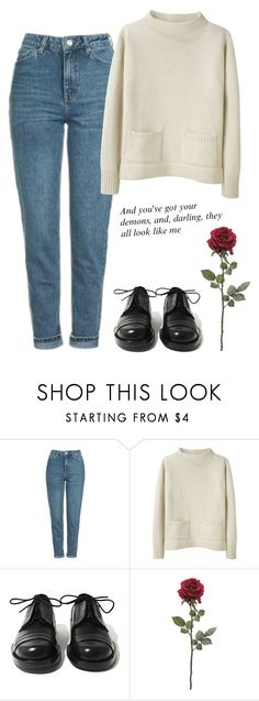 """""""Sin título #681"""" by mary-nava ❤ liked on Polyvore featuring Topshop, MHL by Margaret Howell and Achilles Ion Gabriel"""