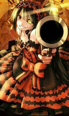 The crazy Kurumi Date a Live #animegirl