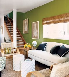 Green Living Rooms Jade And On Pinterest