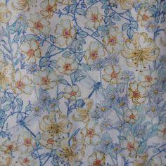 Liberty of London tana lawn fabric Mrs Munroe 6x26 by MissElany