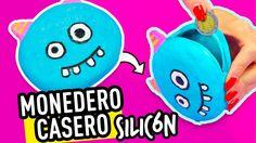 DIY Monederos Caseros de Silicon | Manualidades Sin Coser | Con Asi o ma...