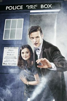 :D The Doctor and Clara.