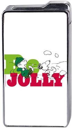 Snoopy Be Jolly Kendin Tasarla - Çakmak