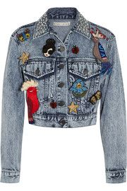 Chloe embellished denim jacket