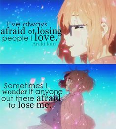 """""""Is anyone out there afraid to lose me?"""" """"No one."""""""