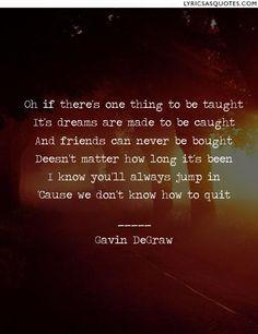 Gavin Degraw- Fire