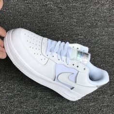 Unisex Nike Air Force 1 07 LV8 4 AT6147 001 Alle Schwarz Silber