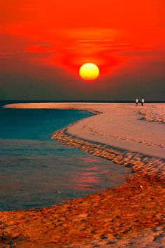 Camiguin Island - The Island Born of Fire off the coast of the Phillipines sunrise, sunset, beach, sand, ocean Beautiful Sunset, Beautiful World, Beautiful Places, All Nature, Amazing Nature, Nature Beach, Amazing Sunsets, Jolie Photo, Pretty Pictures