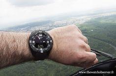 Montre de sport Tissot T-Touch Expert Solar - altimètre (605 mètres d'altitude)