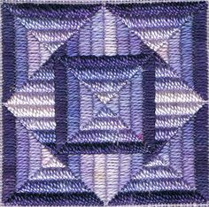 Bargello Prism 1 (canvaswork) | A counted thread or canvaswo… | Flickr