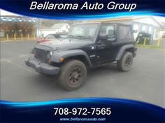 This 2012 Jeep Wrangler Sport is listed on Carsforsale.com for $19,450 in Midlothian, IL. This vehicle includes Airbag deactivation: passenger switch, Front airbags: dual, Antenna type: mast, Auxiliary audio input: jack, In-Dash CD: single disc, Radio: AM/FM, Total speakers: 6, ABS: 4-wheel, Braking assist, Electronic brakeforce distribution, Front brake type: disc, Rear brake type: disc, Floor mat material: carpet, Floor material: carpet, Floor mats: front, Center console: front consol...