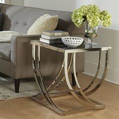Lucio Arch Curved Sculptural End Table Center Tablehome Living Roomtable