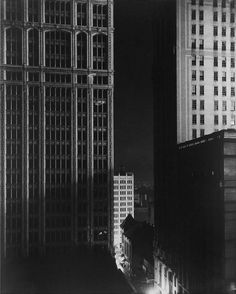 Edward Steichen, Sunday Night, 40th Street, 1925