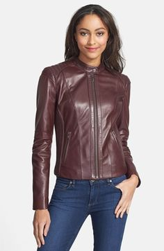 Danier Official Store, Nicole lamb leather motoWas $449 / Save ...