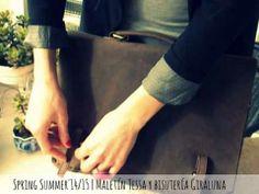 Un aire nuevo en carmen tessa de la colección SS14/15 | Maletín piel de Tessa y accesorios Giraluna | www.carmentessa.es