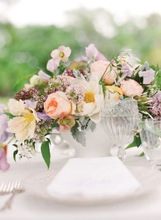 Availendar: Peach + Lilac Wedding Inspiration